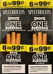 Splitarillos One Hundred Cigarillos Pouch 6 for 99