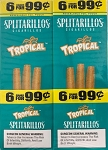 Splitarillos Tropical Cigarillos Pouch 6 for 99