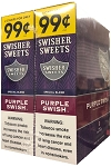 Swisher Sweets Foil Purple Swish 2 for 99