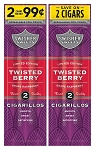 Swisher Sweets Cigarillos Foil Pack Twisted Berry