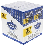 Swisher Sweets Cigarillos Blueberry Pack B1G1