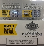 Swisher Sweets Cigarillos Diamond Pack B1G1
