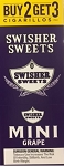 Swisher Sweets Cigarillos MINI Foil Pack Grape