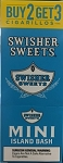 Swisher Sweets Cigarillos MINI Foil Pack Island Bash