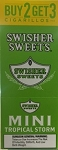 Swisher Sweets Cigarillos MINI Foil Pack Tropical Storm