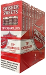 Swisher Sweets Tip Cherry Cigarillos 5 Pack