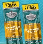 Swisher Sweets Cigarillos Foil Pack Summer Twist Limited Edition