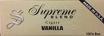 Supreme Blend Filtered Cigars Vanilla
