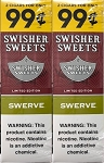 Swisher Sweets Cigarillos Foil Pack Swerve 2 for 99
