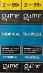 Game Foil Fresh Cigarillos Tropical 2 for $0.99 Pre-Priced