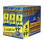 Good Times Cigarillos Blueberry 30/3 Packs 3 for $0.99 Pre-Priced