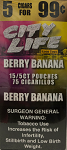 City Life Cigarillos Berry Banana  5 /99