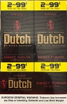 Dutch Masters Cigarillos Sweet Fusion 2 for $0.99