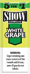 Show Cigarillos White Grape 5 for 1