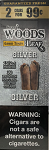 Good Times Sweet Wood Leaf Silver Cigars 2 for 99