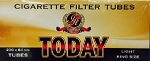 TODAY Cigarette Filter Tubes Light 5 Boxes of 200 King Size (COPY)