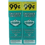 Swisher Sweets Cigarillos Foil Pack Tropical Fusion