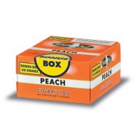 White Owl Cigarillos Peach Box