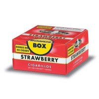 White Owl Cigarillos Strawberry Box