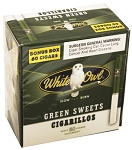 White Owl Cigarillos Green Sweets Box