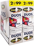 White Owl Cigarillos Foil DUOS Berries Cream 2 for 99