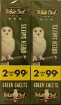 White Owl Cigarillos Foil Fresh Green Sweets 2 for 99