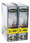White Owl Cigarillos Foil Fresh Platinum Pre-Priced