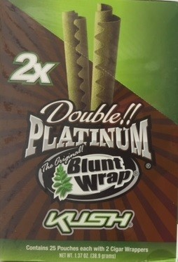 Double Platinum Blunt Wrap Kush