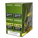 Game FoilFresh Cigarillos Green 2 for $0.99 Pre-Priced