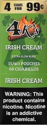 4 Kings Irish Cream Cigar Pouch