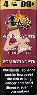 4 Kings Pomegranate Cigar Pouch