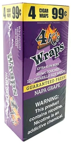4 Kings Napa Grape Wraps Pouch