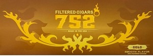 752 Filtered Cigars Gold