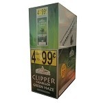 Clipper Cigarillos Green Haze 15/4 Pouch 4 for $0.99
