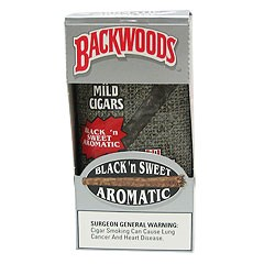 Backwoods Black N Sweet Aromatic Cigars 5ct