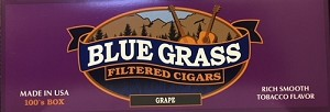 Blue Grass Filtered Cigars Grape