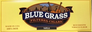 Blue Grass Filtered Cigars Vanilla