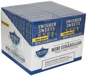 Swisher Sweets Mini Cigarillos Blueberry B1G1 Pack