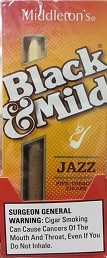Black & Mild Tip Jazz Cigars Pack