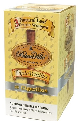 Bluntville Triple Vanilla Cigars 25ct