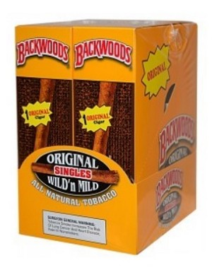 Backwoods Original (Wild N Mild) Cigars 24 ct