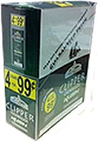 Clipper Cigarillos Kush 15/4 Pouch 4 for $0.99