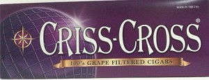 Criss Cross Filtered Cigars Grape