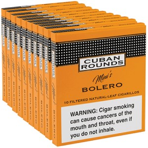 Cuban Rounds Mini Bolero Cigars