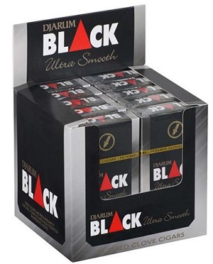 Djarum Black Sliver Filtered Clove Cigars