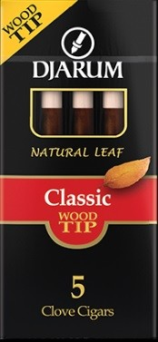 Djarum Clove Wood Tip Classic Cigars Pack