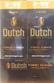 Dutch Masters Cigarillos Honey Fusion 2 for $0.99