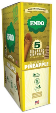 Endo Golden Pineapple Organic Hemp Wraps