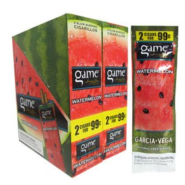 game foilfresh cigarillos watermelon 2 for 0 99 pre priced cheap