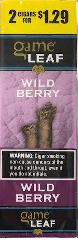 Game Leaf Wild Berry 2 for $1.29